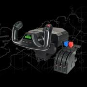 Saitek Pro Flight Yoke System + cuadrante de aceleración
