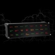 Pro flight backlit information panel BIP